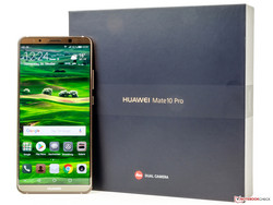 In the test: Huawei Mate 10 Pro, test unit provided by Huawei Germany