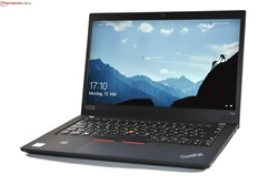 Lenovo ThinkPad T490 Laptop rövid értékelés. Test unit provided by campuspoint
