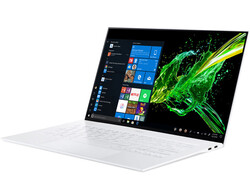 The Acer Swift 7 SF714-52T-76MR, test unit provided by notebooksbilliger.de
