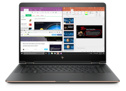 In review: HP Spectre x360 15t-bl100. Test model provided by Computer Upgrade King