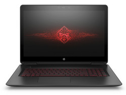 In review: HP Omen 17-w100ng. Test model courtesy of Nvidia