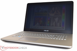 In review: Asus N752VX-GC131T. Test model courtesy of Asus Germany