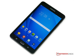 In review: Samsung Galaxy Tab A7 (2016) - SM-T280. Review sample courtesy of Notebooksbilliger.de