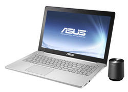 Asus N550: full sound thanks to external subwoofer